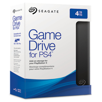 Seagate 4TB 2.5 inch Game Drive for PS4 - Cover