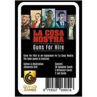 La Cosa Nostra - Guns For Hire Expansion (Card Game)