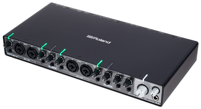 Roland Rubix44 4-In 4-Out USB Audio Interface (Black)