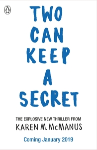 Two Can Keep a Secret - Karen Mcmanus (Paperback) - Cover