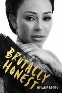 Brutally Honest - Melanie Brown (Trade Paperback) - Cover