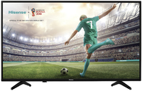 Hisense 55 Inch Smart FHD LED TV - Black - Cover
