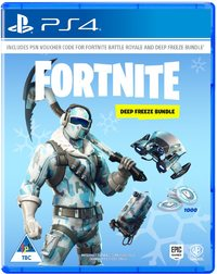 Fortnite: Deep Freeze Bundle - Code will be emailed (PS4)