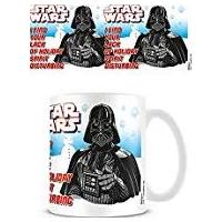 Star Wars Darth Lack of Holiday Spirit Mug