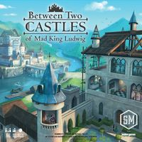 Between Two Castles of Mad King Ludwig (Card Game) - Cover