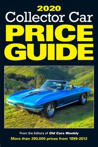 2020 Collector Car Price Guide - Old Cars Report Price Guide (Paperback) - Cover