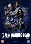 Fear the Walking Dead: The Complete Seasons 1-4 (DVD)