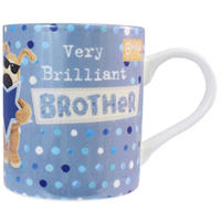 Boofle Mug - Very Brilliant Brother