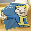 Fallout Vault Boy Fleece Blanket