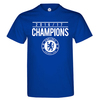 Chelsea Champions 2016/17 Men's Royal Blue T-Shirt (XX-Large)