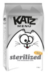 Katz Menu - Dry Cat Food – Sterilized (2kg)