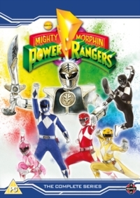 Mighty Morphin Power Rangers: Complete Season 1-3 (DVD) - Cover