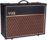 Vox AC30S1 Custom Series 30 watt 12 Inch Electric Guitar Valve Amplifier Combo (Black and Brown)