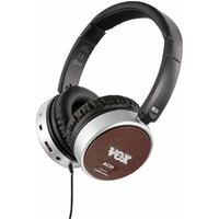 Vox AC30 amPhone On-Ear Electric Guitar Amplifier Headphones (Black and Brown)