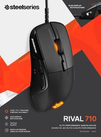 SteelSeries - Rival 710 RGB Wired Optical Gaming Mouse