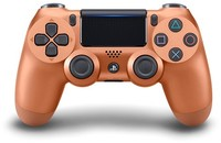 Sony - New DUALSHOCK 4 Wireless Controller V2 - Copper (PS4) - Cover