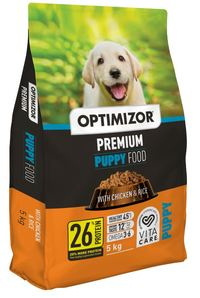 Optimizor - Premium Dry Dog Food – Chicken & Rice (5kg) - Cover