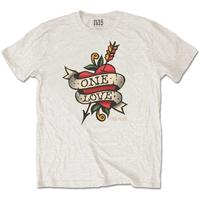 Nas Love Tattoo Men's Natural T-Shirt (Medium)