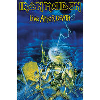 Iron Maiden Live After Death Textile Poster