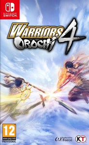 Warriors Orochi 4 (Nintendo Switch) - Cover