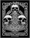 Amon Amarth Three Skulls Standard Patch