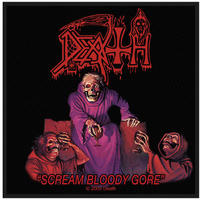 Death Scream Bloody Gore Sew On Patch