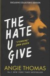 The Hate U Give - Exclusive Collectors - Angie Thomas (Paperback) Cover