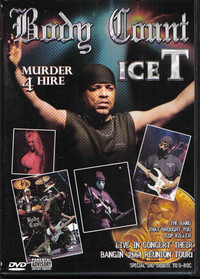 Body Count - Murder 4 Hire (DVD) - Cover