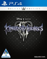 Kingdom Hearts III - Deluxe Edition (PS4) - Cover