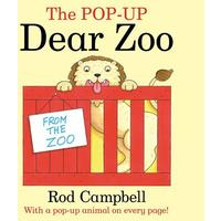 Pop-up Dear Zoo - Rod Campbell (Paperback)