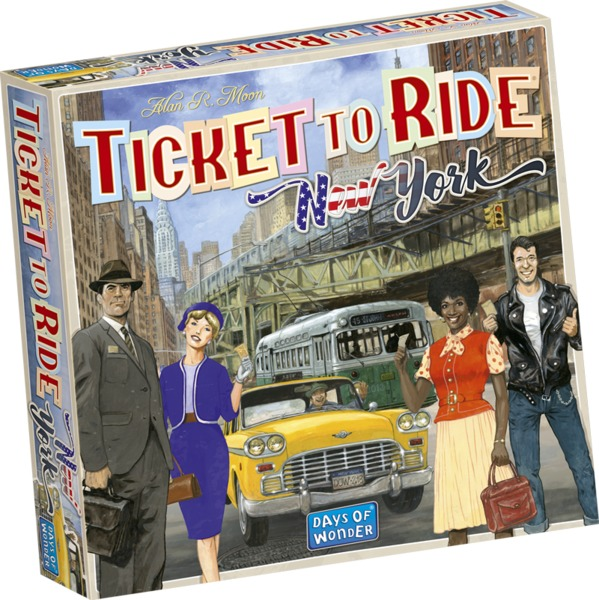 Ticket to Ride - New York (Board Game)