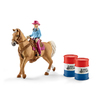 Schleich - Barrel Racing With Cowgirl