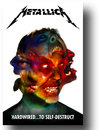 Metallica Hardwired to Self Destruct Textile Poster