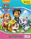 Paw Patrol:My Busy Book For Girls (Hardcover)