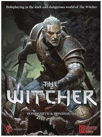 The Witcher (Role Playing Game) - Cover