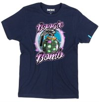 Fortnite - Boogie Bomb Teen Boys' T-Shirt - Navy (Ages 15/16) - Cover