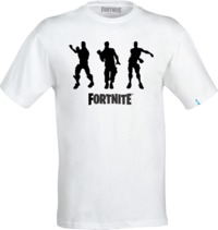 Fortnite - Fresh Tidy Floss Teen Boys' T-Shirt - White (Ages 13/14) - Cover