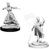 Dungeons & Dragons - Nolzur's Marvelous Unpainted Miniatures - Fire Genasi Female Wizard (Miniatures)
