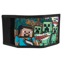 Minecraft - Steve Overworld Tri-Fold Wallet - Cover