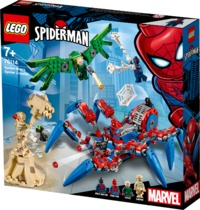 LEGO® Marvel Super Heroes - Spider-Man's Spider Crawler (418 Pieces) - Cover