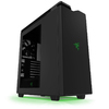 NZXT - H440 ATX Mid-Tower Razer Edition - Black/Green