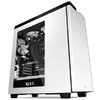 NZXT - H440 Windowed Computer Chassis - Matte White/Black