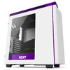 NZXT - H440 ATX Mid-Tower  Computer Chassis Matte - White/Purple