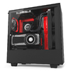 NZXT - H500i Computer Chassis - Matte Black/Red