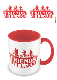 Stranger Things Friends Don't Lie Mug
