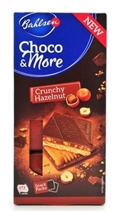 Bahlsen - Choco & More - Crunchy Hazelnut Biscuits (120g) - Cover