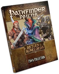 Pathfinder Pawns - Return Of The Runelords Pawn Collection (Role Playing Game) - Cover