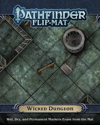 Pathfinder Flip-Mat - Wicked Dungeon (Role Playing Game) - Cover