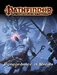 Pathfinder Campaign Setting - Concordance of Rivals (Role Playing Game) - Cover