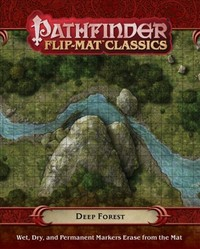 Pathfinder Flip-mat Classics - Deep Forest (Role Playing Game) - Cover